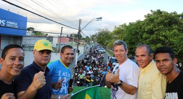 Carreata em apoio a Bolsonaro reúne 300 veículos em Arapiraca, diz PSLC