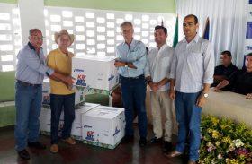Governo de Alagoas entrega kits de irrigação e alevinos a produtores de São José da Laje