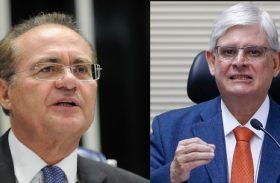 "Ao desistir de candidatura no MP, ""Janot rosnou e depois miou"", cutuca Renan"