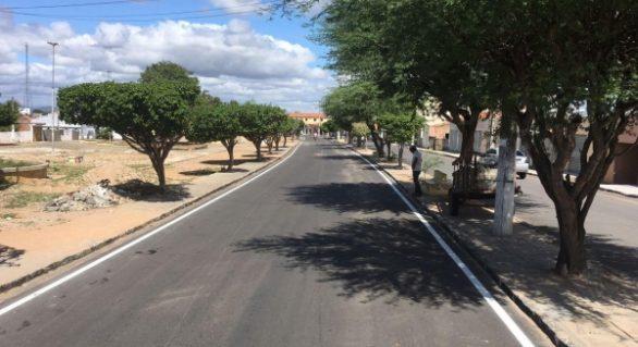 Governo entrega 9 quilômetros de obras de pavimentação em Piranhas, nesta segunda (14)