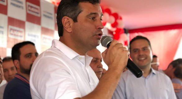 Quintella recebe apoio em 90 cidades e empata com Biu