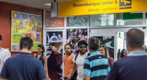 Fluxo internacional cresce 104% até abril desse ano no Zumbi dos Palmares