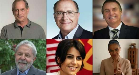 Saiba quem são todos os pré-candidatos a presidência do Brasil