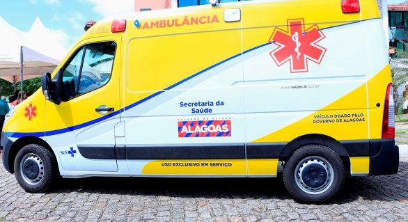 Governo de AL compra 147 ambulâncias para o Serviço de Transporte Sanitário