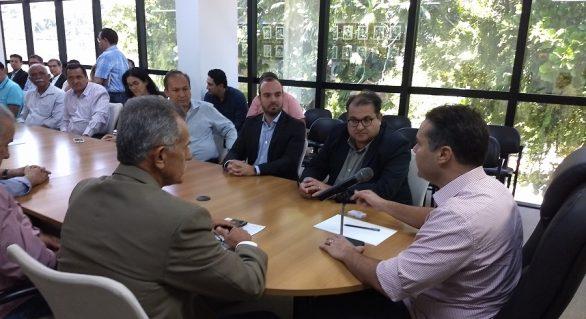 Edgar Filho representa fornecedores de cana em reunião com governadores do NE em Recife