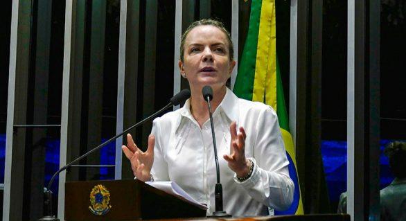 Gleisi condena privatização da Eletrobras e afirma que tarifas vão subir