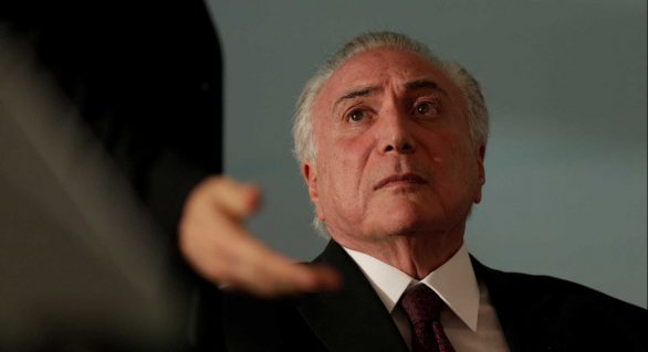 PF envia ao STF indícios de que Temer recebia mesada de R$ 340 mil