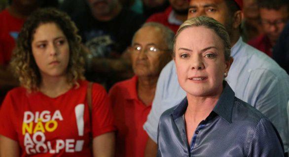 Gleisi: absolvição no STF representa muito para o julgamento de Lula