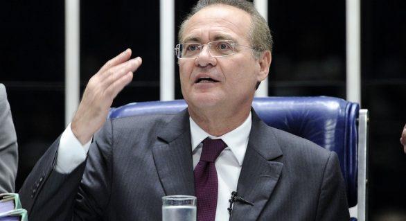 """Renan parabeniza STF por anular """"ingerência"""" de juiz de 1a instância"""