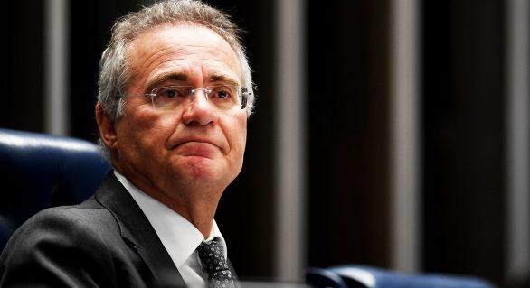 Renan Calheiros faz campanha contra Meirelles