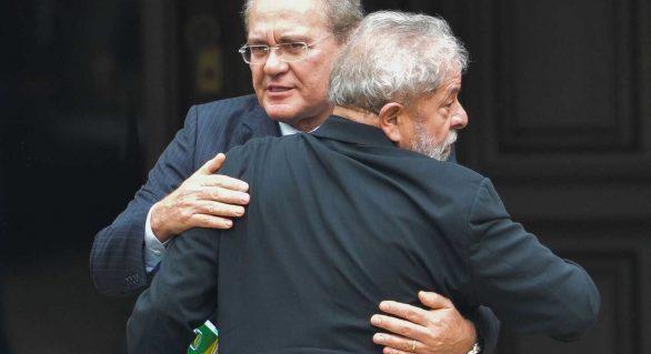 """Calheiros sai em defesa de Lula: """"deve ser candidato"""""""