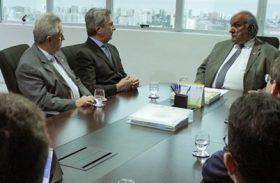 Presidente do TRE/AL recebe candidato ao governo de Alagoas