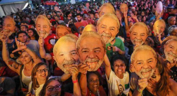 Lula tem mais de 50% dos votos em todos os Estados do Nordeste