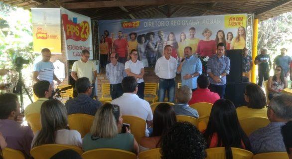 PPS lança Régis para federal e confirma apoio a Renan Filho