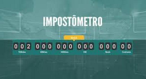 Impostômetro chega a R$ 1,4 trilhões