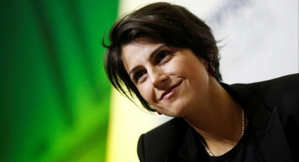 PCdoB oficializa candidatura de Manuela DÁvila ao Planalto