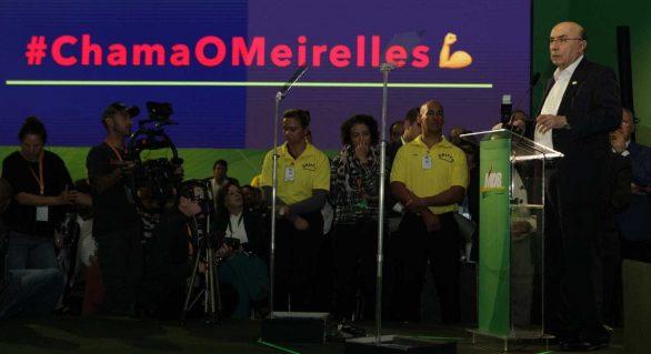 Meirelles diz que mundo não se divide entre Lula e Temer