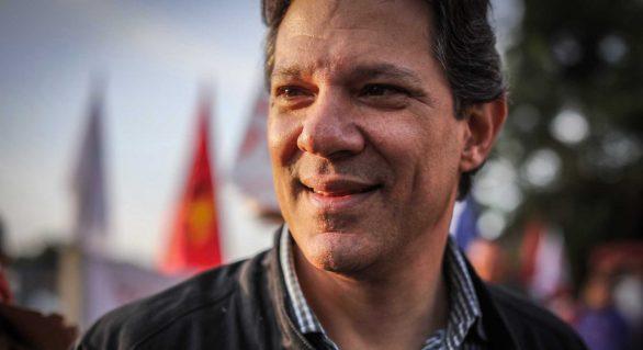 Se Lula for candidato, PT deve trocar Haddad por Manuela