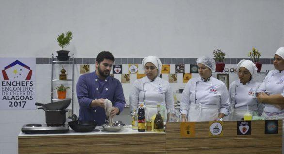 Encontro de chefs alagoanos valoriza gastronomia local