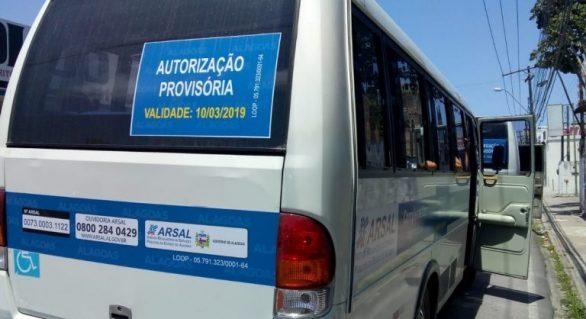 Operação fiscaliza transporte irregular em Maceió neste sábado