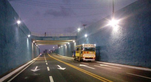 Prefeitura conclui sinalização horizontal na Afrânio Lages