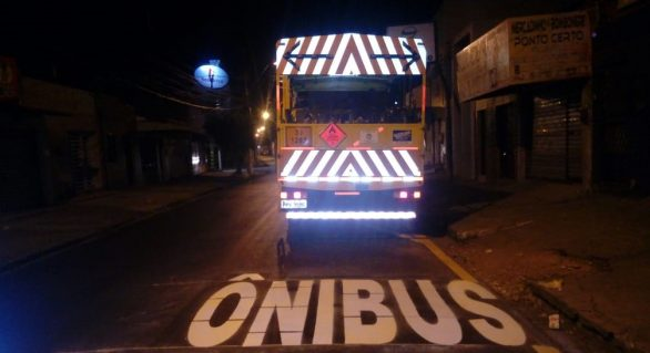 Prefeitura inicia sinalização de vias na Pajuçara