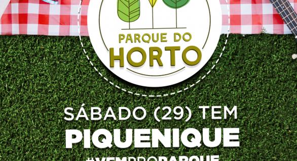 Parque do Horto terá área para piquenique com food trucks