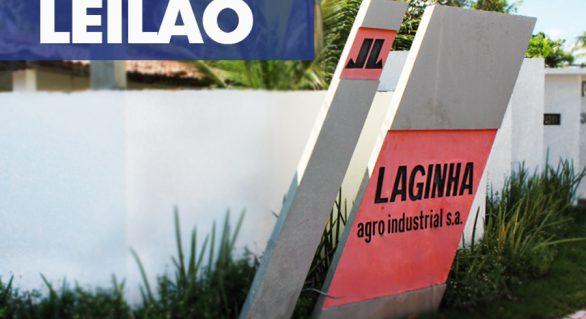 Justiça marca para 16/10 leilão de terras e equipamentos da Usina Guaxuma, da Laginha