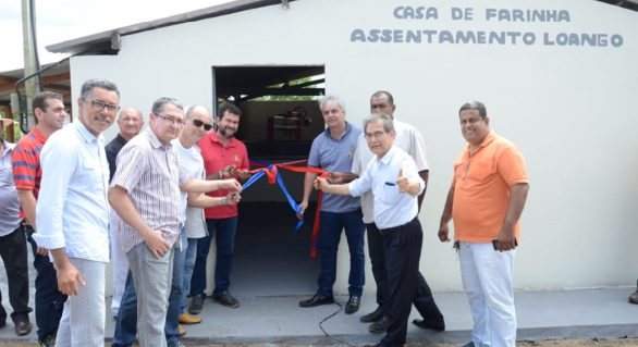 Casa de farinha no Assentamento Loango em Cajueiro é reformada