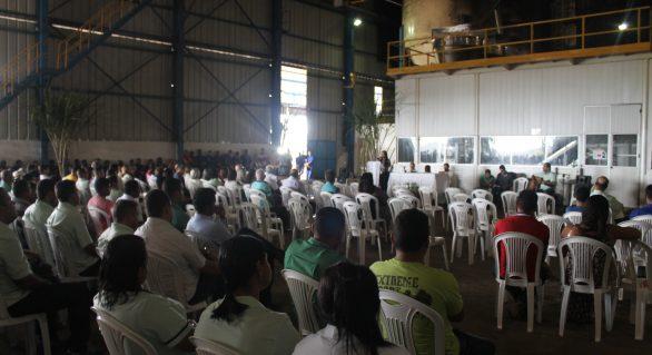 Missa celebra início da safra 18/19 na Usina Pindorama