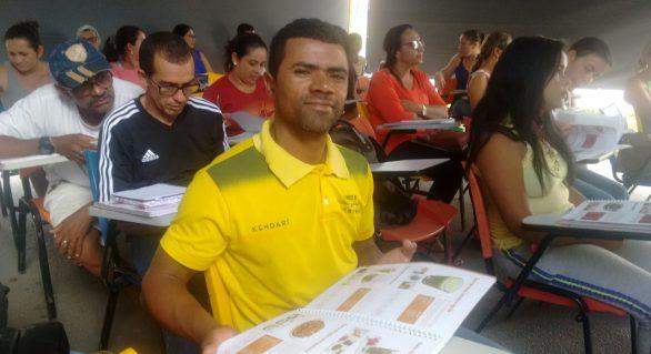 Aumenta presença do público masculino no Programa Cozinha Brasil