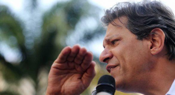 Haddad diz que vai criar condições para nova Constituição