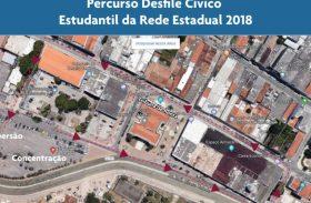 Desfile cívico altera trânsito de Jaraguá neste domingo (16)