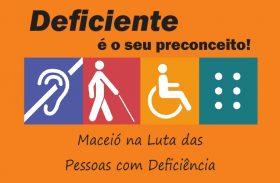 Circuito marca Dia da Pessoa com Deficiência em Maceió