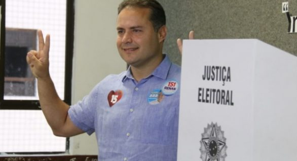 Renan Filho se reelege governador de Alagoas no 1º turno