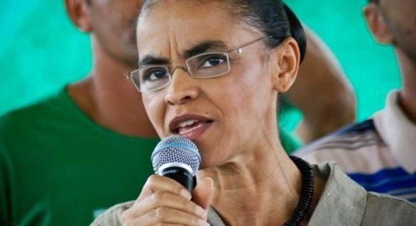 Segundo Marina, Bolsonaro representa um retrocesso incalculável