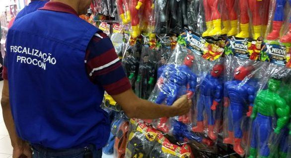 Procon Alagoas realiza operação de fiscalização para o Dia das Crianças