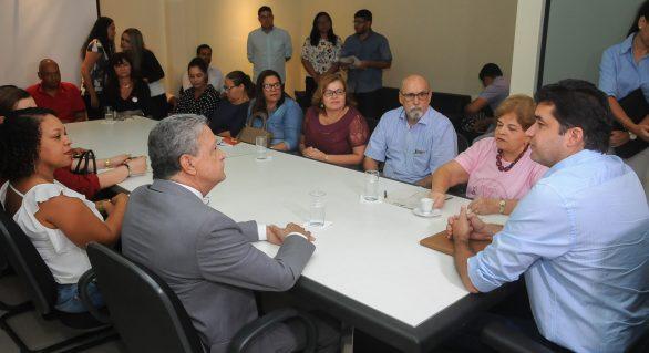 Prefeito autoriza obras em 11 quadras de esportes de Maceió