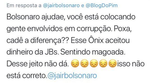 Conta no Twitter mostra arrependimentos de eleitores de Bolsonaro