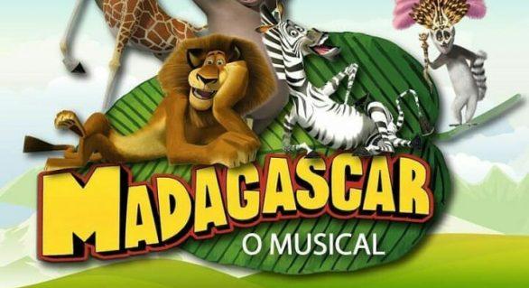 Na Semana da Criança a diversão está garantida com o Espetáculo Madagascar