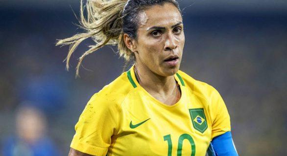 Marta é indicada ao prêmio Bola de Ouro do futebol feminino