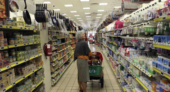 Vendas de supermercados sobem 1,92% em todo o país