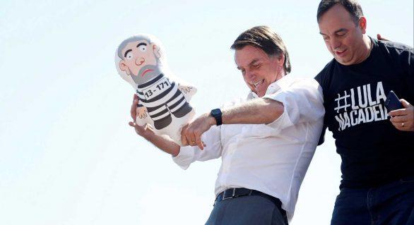Vamos entupir a cadeia de bandido, diz Bolsonaro