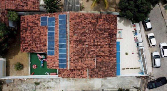 Com a Nota Fiscal Cidadã, entidade instala placa solares e economiza energia