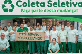 Campanha reforça serviços da coleta seletiva em Maceió