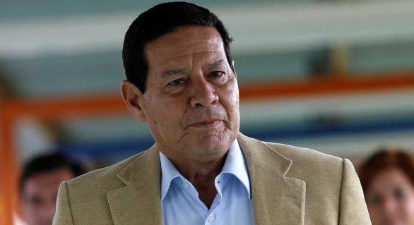 Mourão admite limitação do cargo, mas promete ajuda contra corrupção