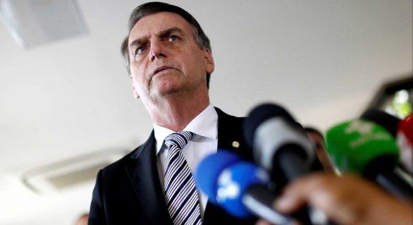 Revista 'Time' inclui Bolsonaro em enquete sobre personalidade do ano