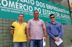 Junta Governativa indicada pelo MPT se apresenta a Sindcomerciários de Alagoas