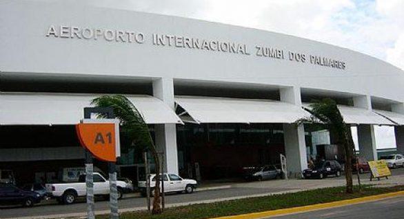 Leilão do aeroporto Zumbi dos Palmares ocorre no dia 15 de março de 2019