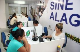 Sine Alagoas oferece vagas para contratação imediata na capital e interior